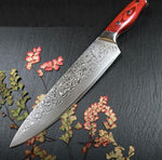 8-Inch Japanese Damascus Steel Chef Knife