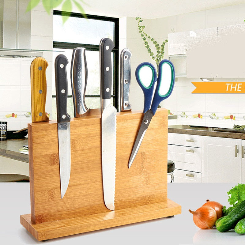 High Quality, Nonporous Bamboo Knife Stand