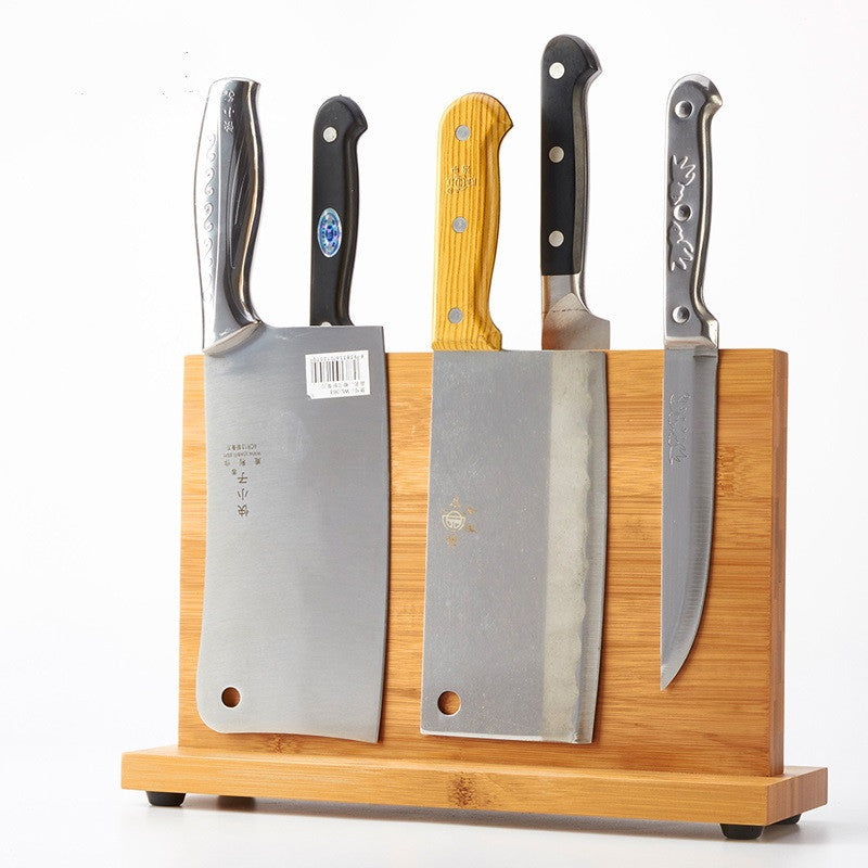 Bamboo Knife Stand/Rack