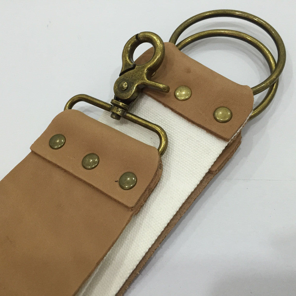 Leather And Canvas Strop