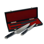 Mirror-Polished 2 Piece Chef And Pairing Knife Set