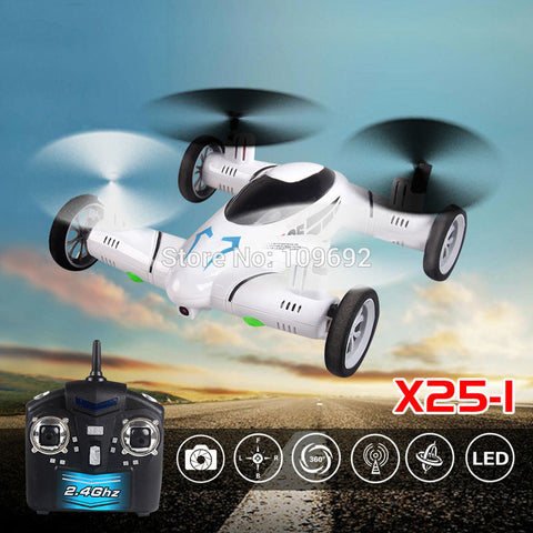 Flying Car 2.4G RC Quadcopter 2MP HD Camera Helicopter