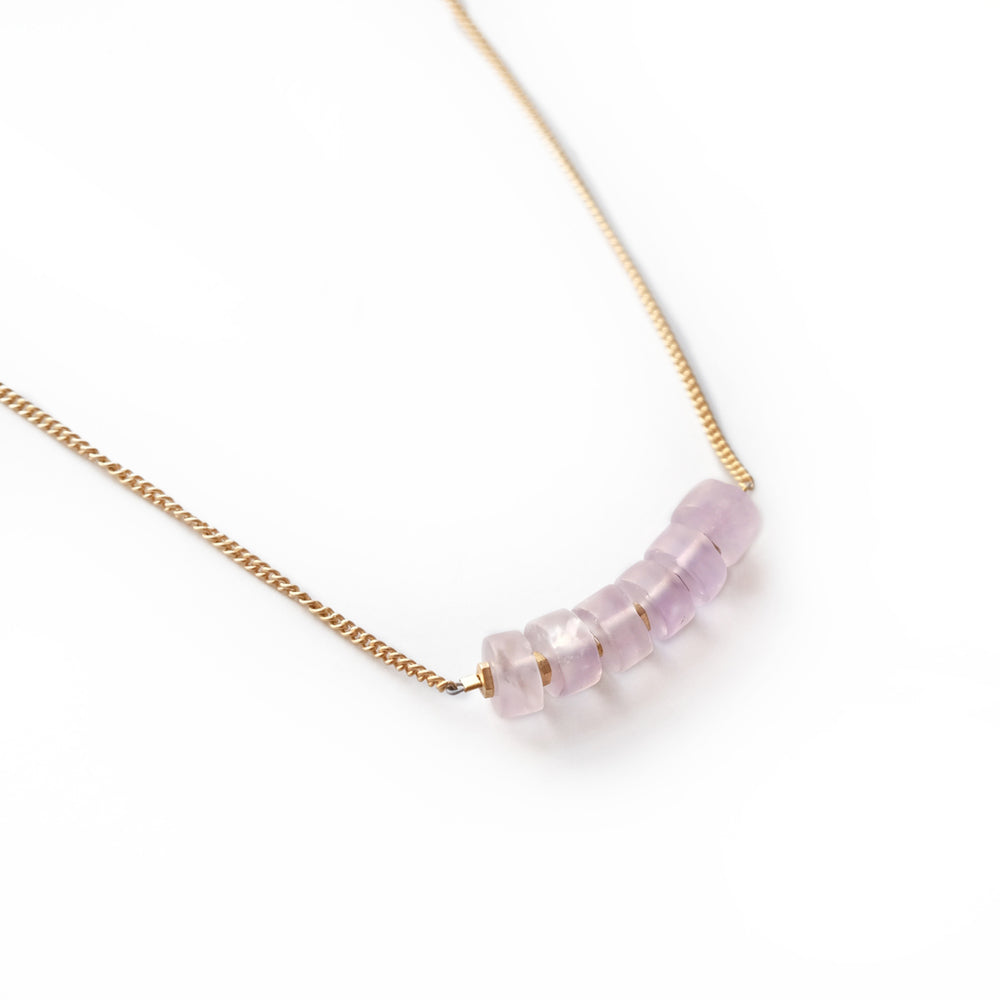 Amethyst August Necklace