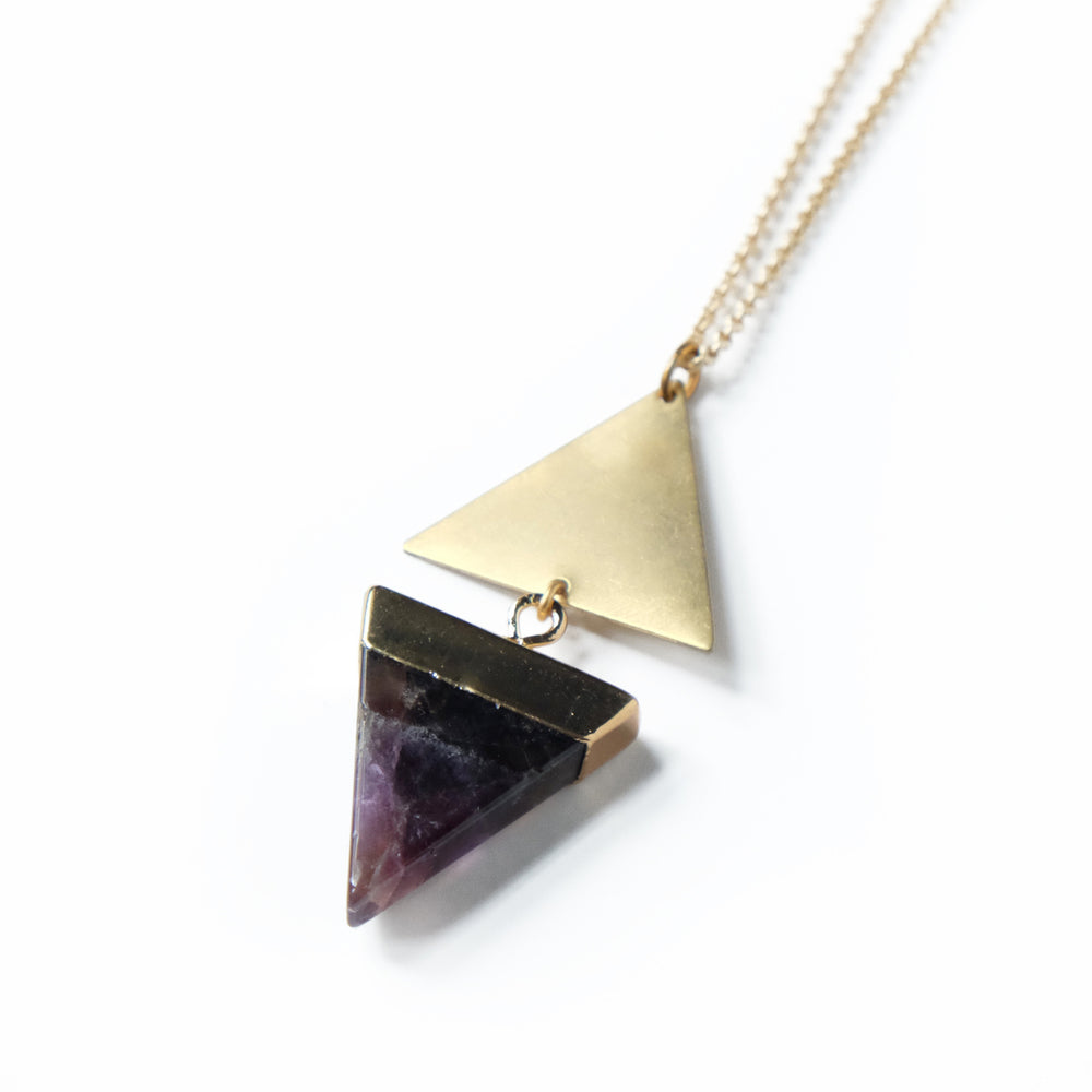 Amethyst Echo Necklace