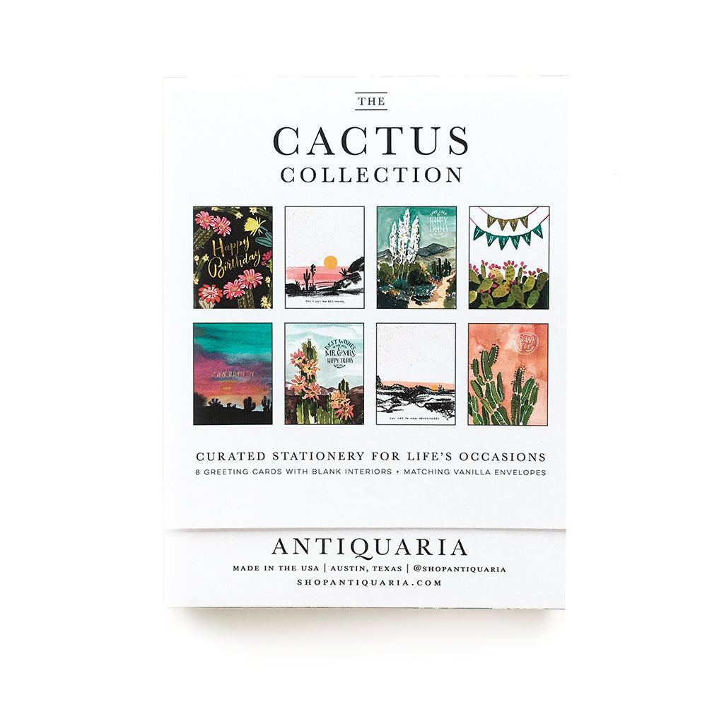 Cactus (Boxed Set of 8)