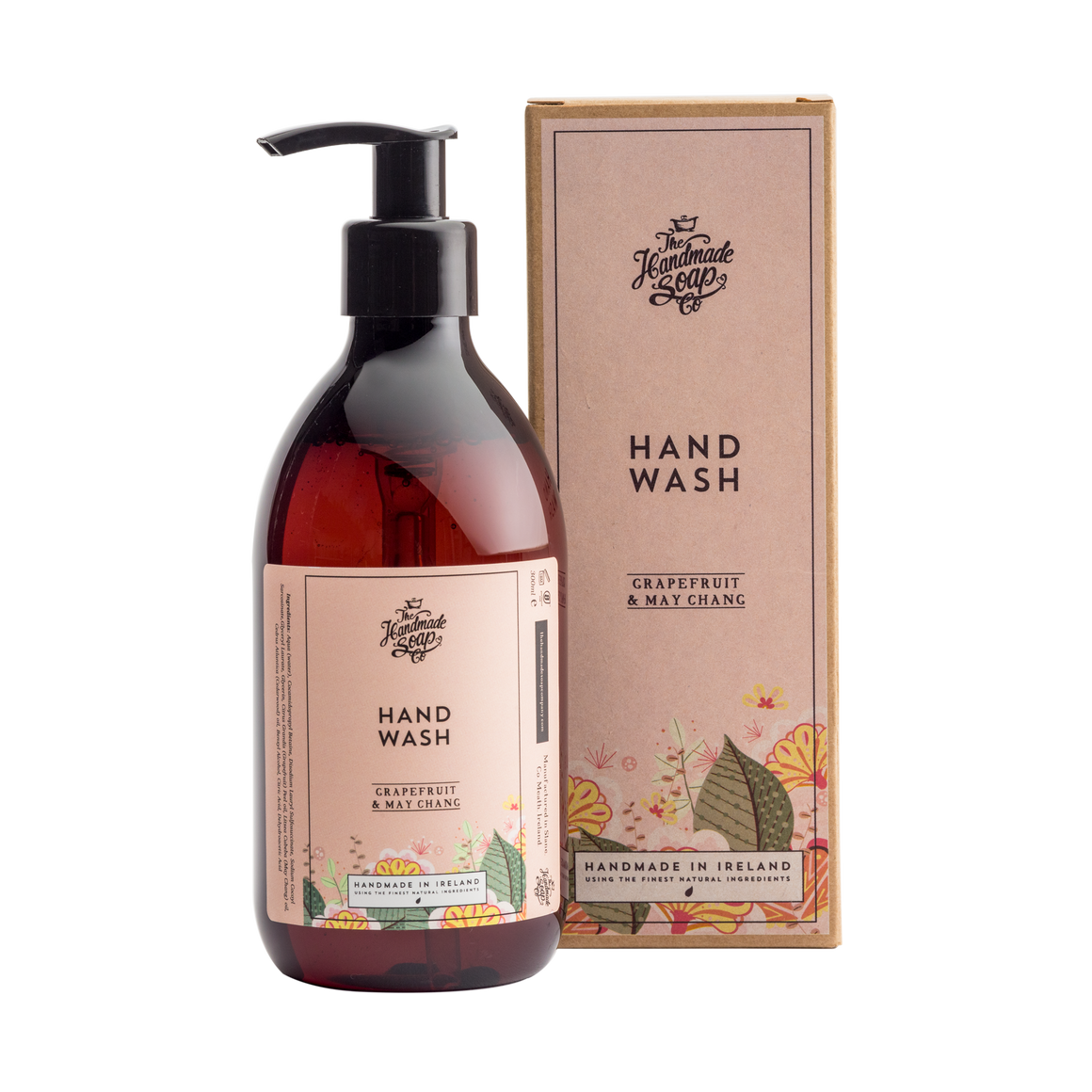 Handmade Soap Co. Grapefruit Imported Irish Hand Wash