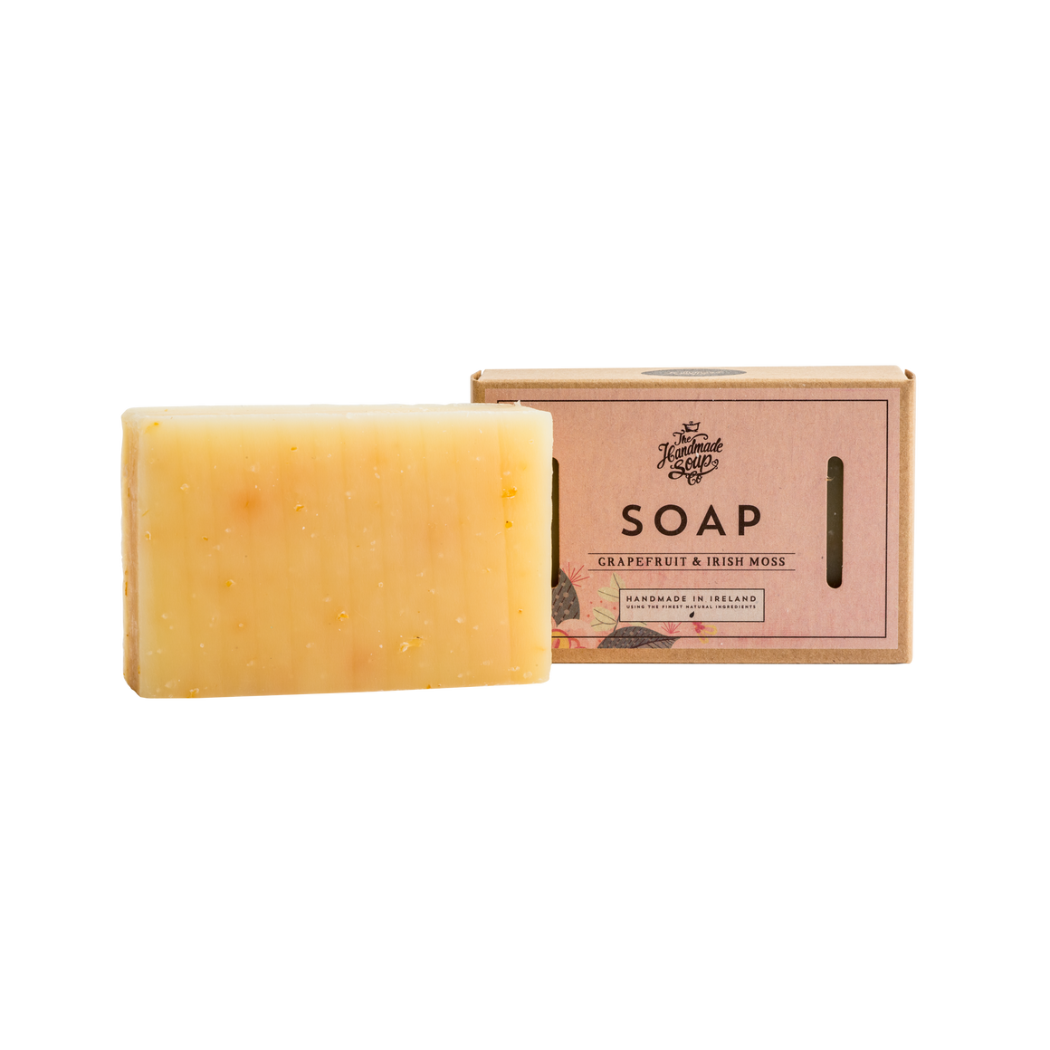 Handmade Soap Co. Grapefruit & Moss Imported Irish Soap