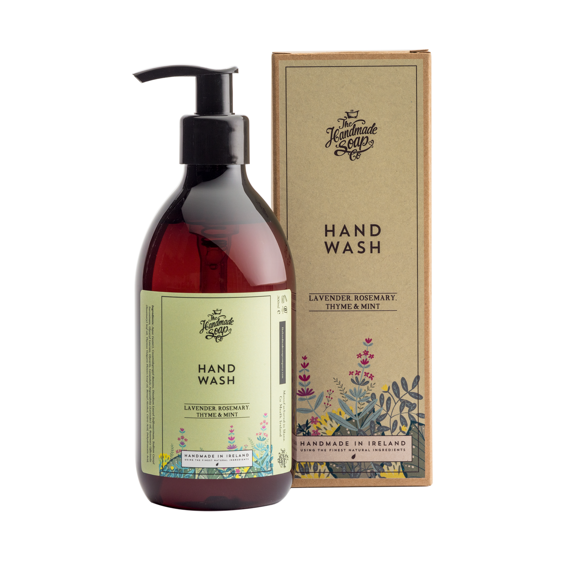 Handmade Soap Co. Lavender, Rosemary, Thyme & Mint Imported Irish Hand Wash