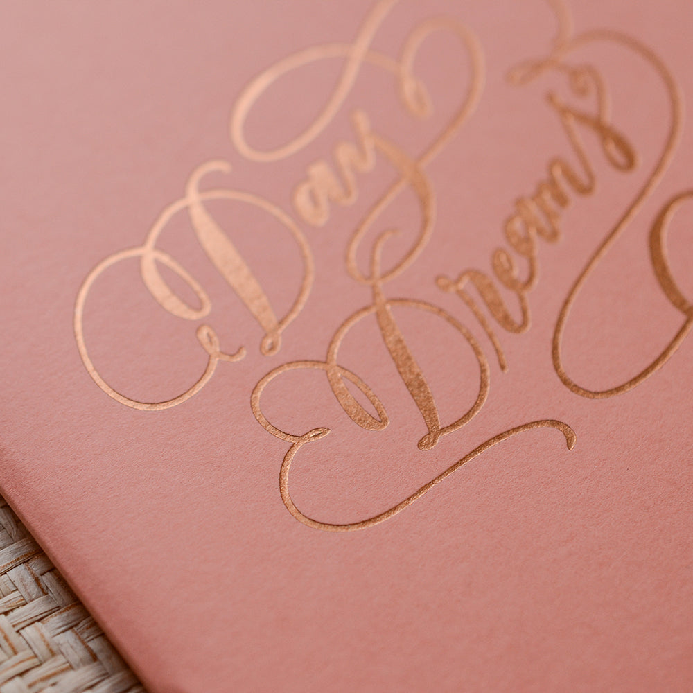 Notes for Daydreams (Gold Foil)