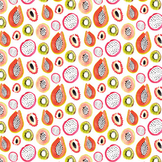 'Fruits' Wrapping Sheet