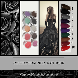Collection Chic Gothique - Poudres de Trempages