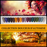 Collection Douceur Automne - Poudres de Trempage - Distribution et Académie Diva inc.