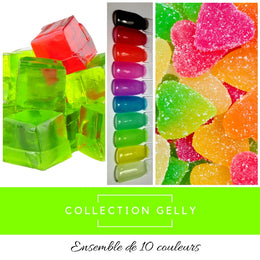 Collection Gelly - Poudres de Trempage - Distribution et Académie Diva inc.