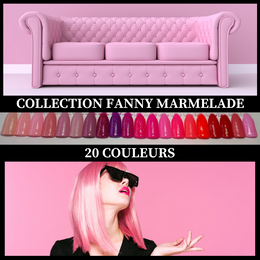 (UNITÉ) Collection Fanny Marmelade - Poudres de Trempage - Distribution et Académie Diva inc.