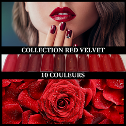Collection Red Velvet - Poudres de Trempage