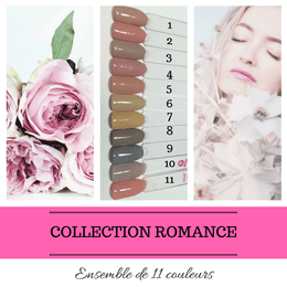 Collection Romance - Poudres de Trempage