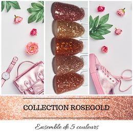 (À L'UNITÉ) Collection RoseGold - Poudres de Trempage