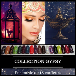 (À L'UNITÉ) Collection Gypsy - Poudres de Trempage - Distribution et Académie Diva inc.