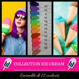 Collection Ice Cream - Poudres de Trempage - Distribution et Académie Diva inc.