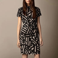 Geometric Printed Dress