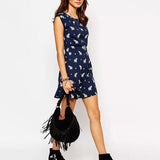 Elephant Printed Dress