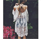 Lace Style Beach Cover Up