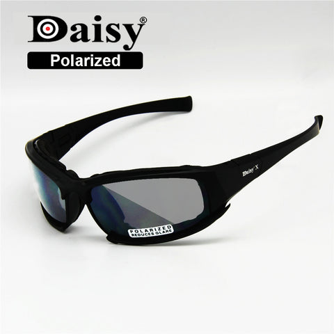 Polarized Daisy X7 Army Sunglasses, Military 4 Lens Kit