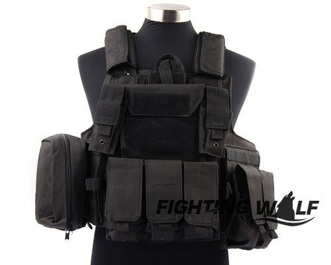 Waterproof Outdoor Material Molle Tactical Vest