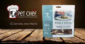 PET CHEF Launches Innovative Freeze Dried Raw Dog Treats