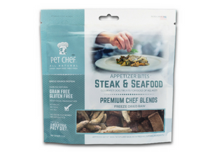 Steak & Seafood Dog Treats