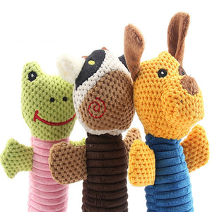 pet plush dog toys cute dog chew toys animals will cat puppy toy toot squirrel pet chew squeak Dogs Toys
