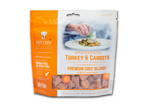 Turkey & Carrot Dog Treats