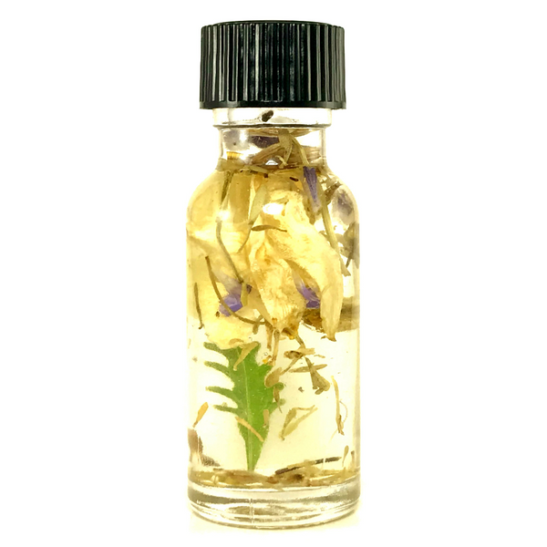 Twichery Calming Oil: Relieve anxiety and distress in both yourself and others. Hoodoo mojo lucky voodoo pagan traditional witchcraft