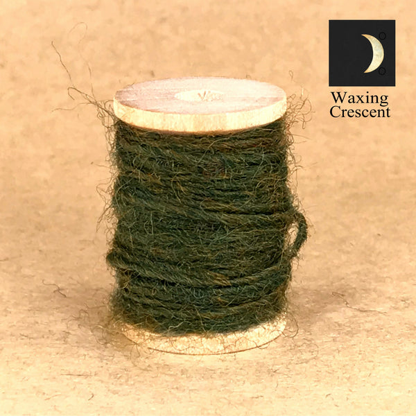 Waxing Crescent Moon-Spun Twine