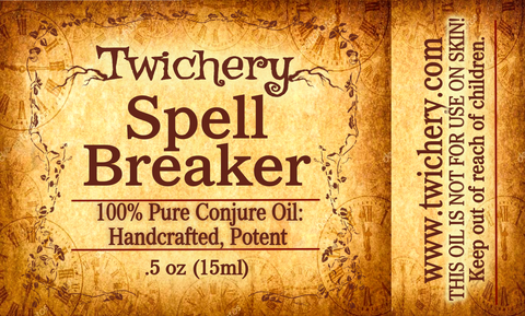 Spell Breaker Oil: Break Hexes, Curses, & Other Aggressive Spells