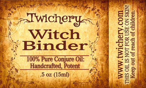 Witch Binder Oil: Stop a Witch from Being Able to Curse You