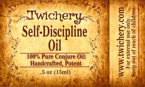Self-Discipline Oil: Set Your Goal and Stick to It!