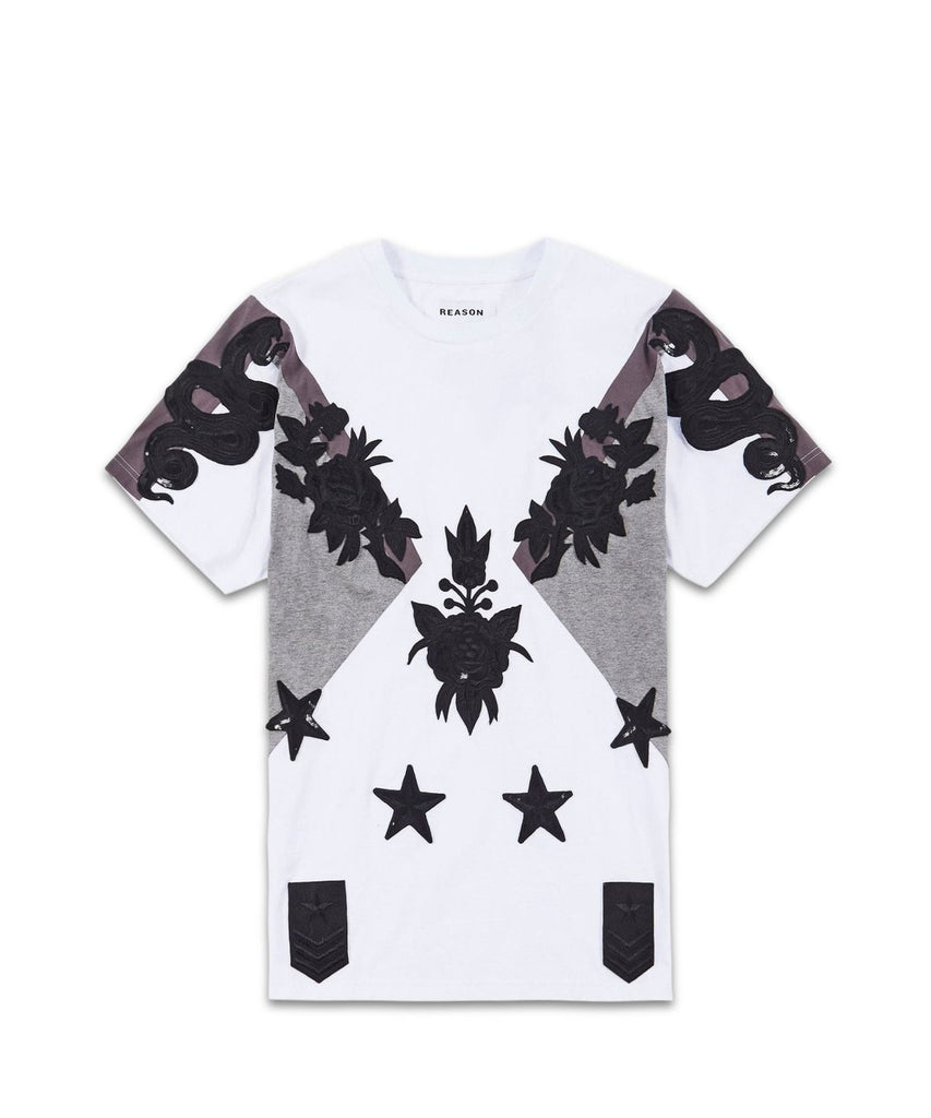 Burgeon Tee - White - The Plug Dallas