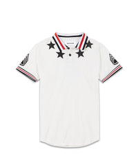 KINGPIN POLO - WHITE - The Plug Dallas