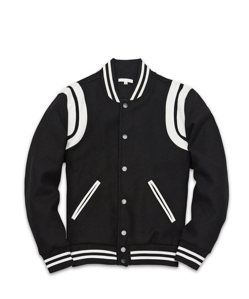 Westlake Wool Varsity Jacket - The Plug Dallas