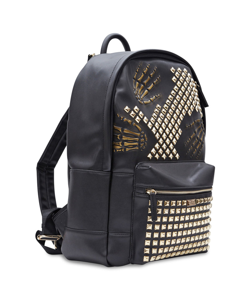 SKELETON STUDDED BACKPACK - The Plug Dallas