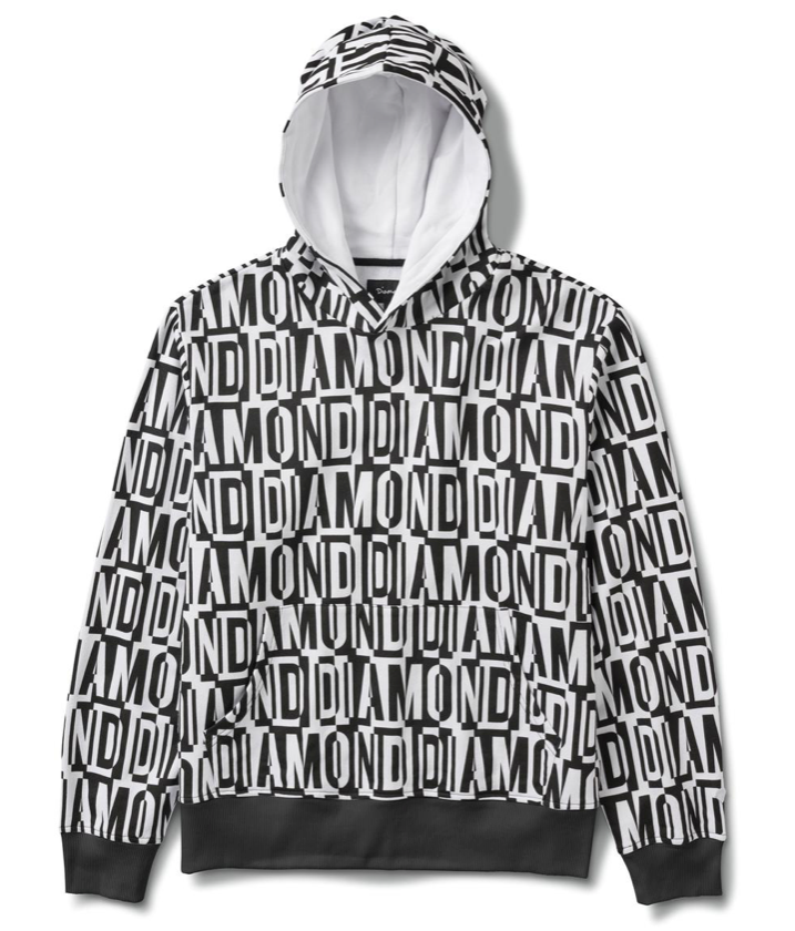 Jumbled Oversized Hoodie - The Plug Dallas