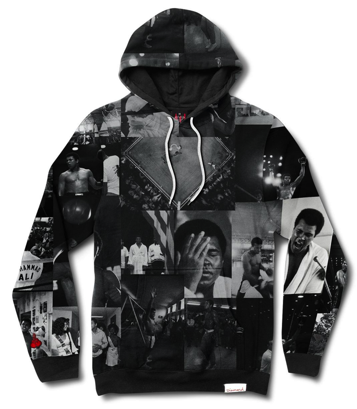 DMND X Ali Montage Hoodie - The Plug Dallas