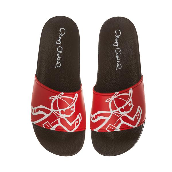 CARDINAL JACK SLIDES (RACING RED) - The Plug Dallas