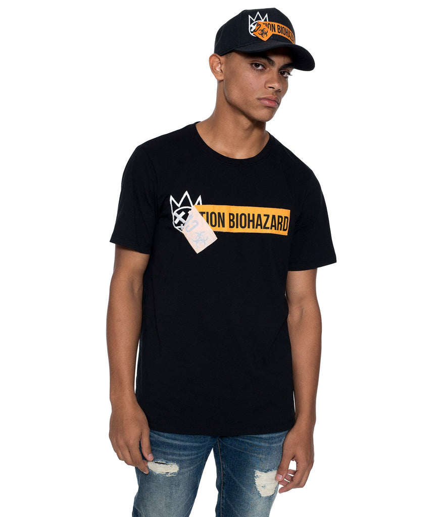 Biohazard Crew Tee - The Plug Dallas