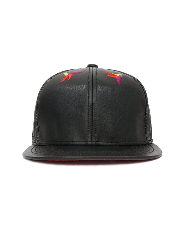Vegan Leather Hat