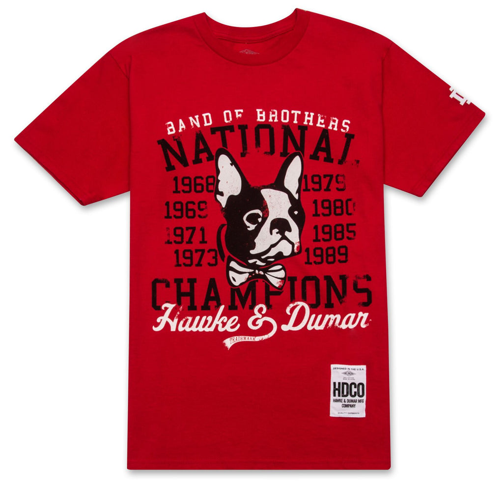 National Champs Tee - Red - The Plug Dallas