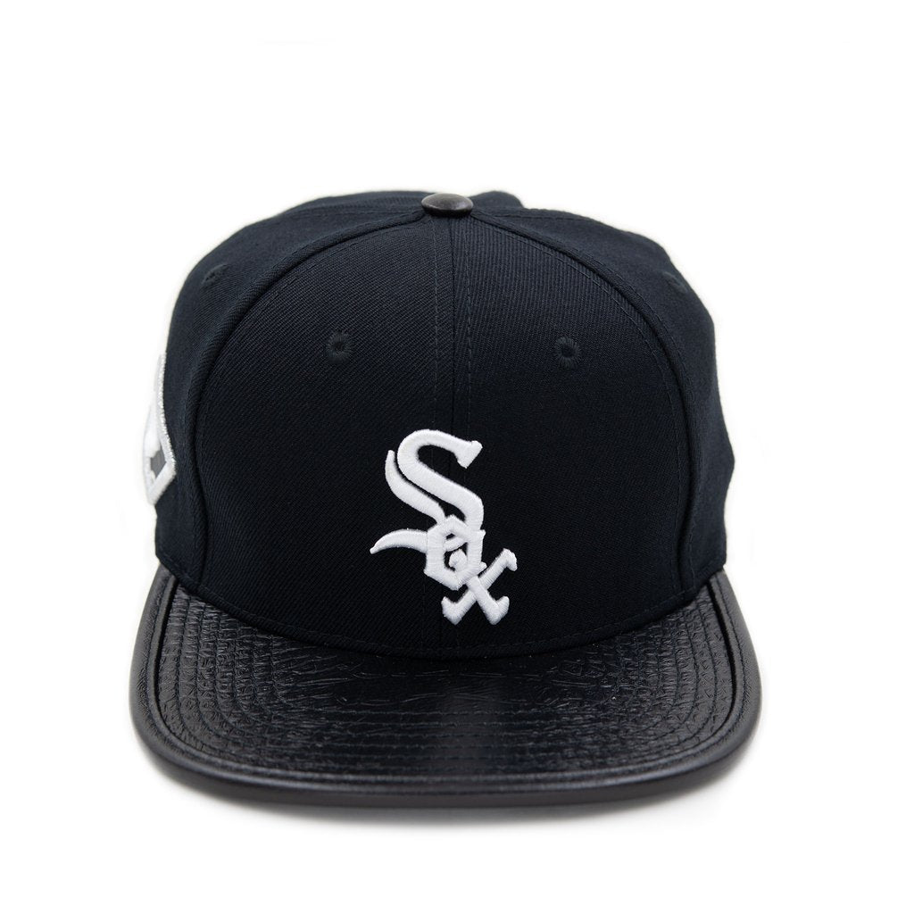 White Sox leather hat