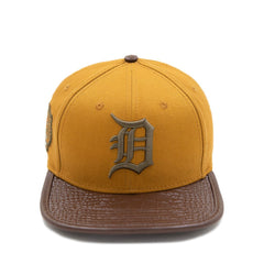Detroit Tigers Logo Leather Hat