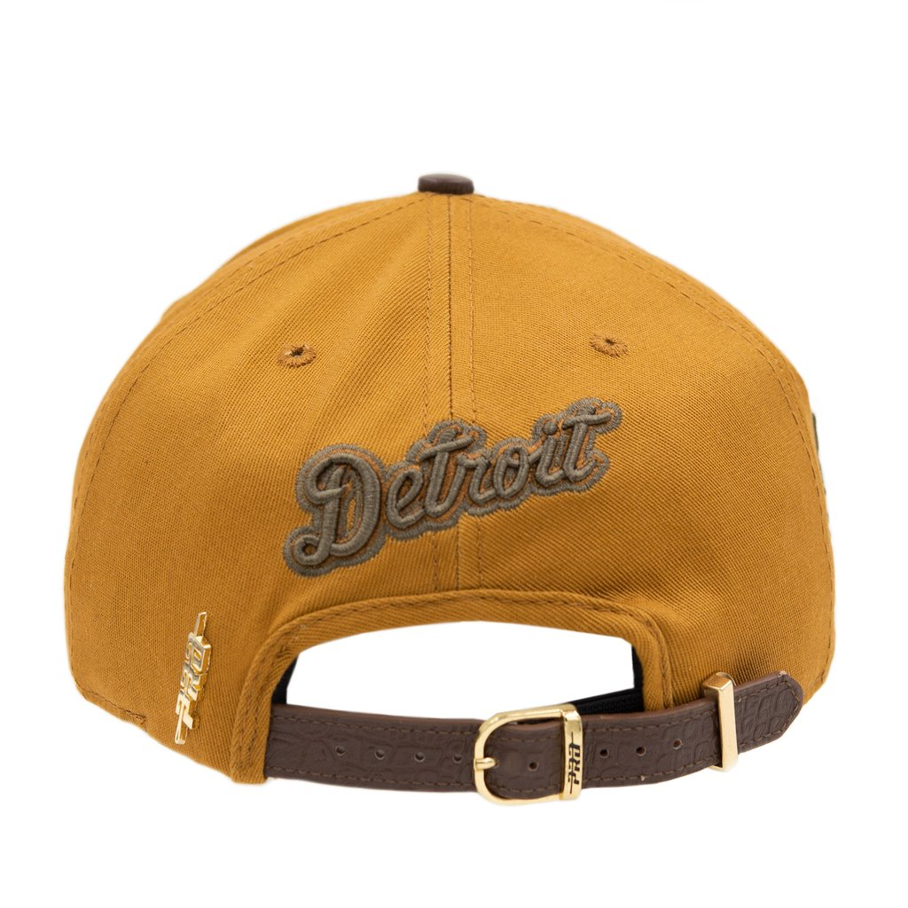 Detroit Tigers Logo Strapback - The Plug Dallas